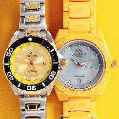 From $15: Designer Watches for Him & for Her