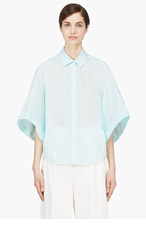 VERONIQUE BRANQUINHO Seafoam Kimono Sleeve Blouse for women