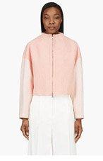 KENZO Orange & Cream Tweed Cocktail Jacket for women
