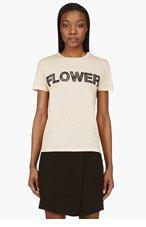 CHRISTOPHER KANE Peach Flower T-Shirt for women