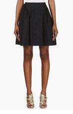 MCQ ALEXANDER MCQUEEN Black Suspended Skirt for women