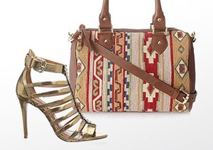 Globally Inspired: Shoes, Bags & More