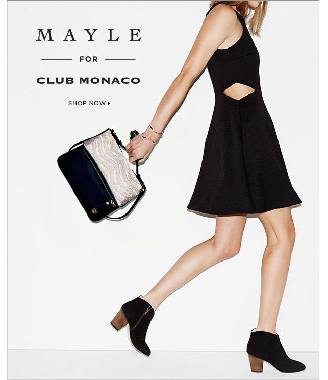 Shop The Latest In Mayle For Club Monaco