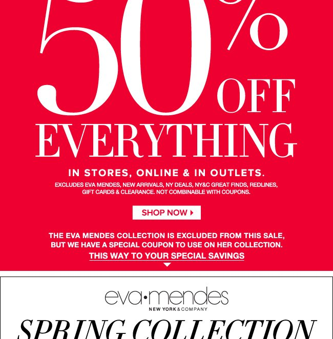 New York & Company: 50% off sale extended today + Stunning day-to ...