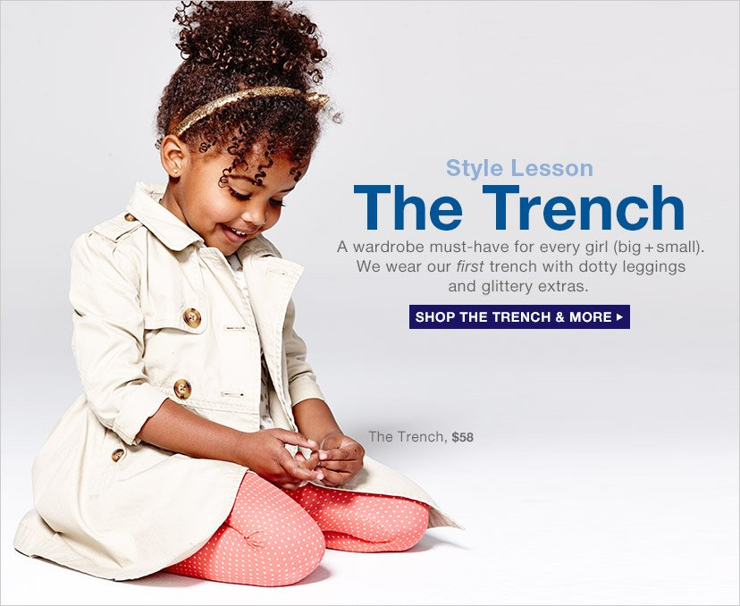 Style Lesson | The Trench | SHOP THE TRENCH & MORE