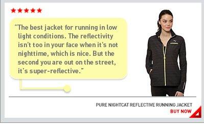 PURE NIGHTCAT REFLECTIVE RUNNING JACKET BUY NOW