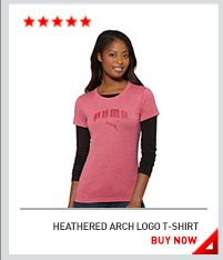 HEATHERED ARCH LOGO T-SHIRT BUY NOW