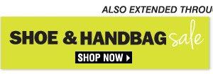 Shop our Shoe & Handbag Sale