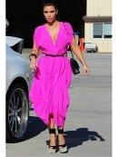 Myne Heidi Dress in Hot Pink as Seen On Kim Kardashian and Khloe Kardashian
