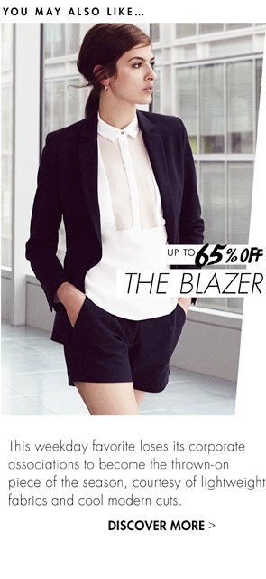 THE BLAZER - UP TO 65% OFF