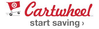 Cartwheel. start saving.