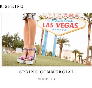 Spring Commercial