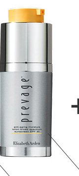 MOISTURIZE. PREVAGE® Anti-aging Moisture Lotion. 97% of women felt softer, smoother skin.***