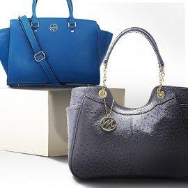 Shades of the Season: Blue Handbags