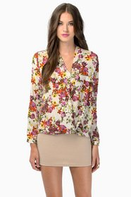 Quiet Mornings Blouse $32