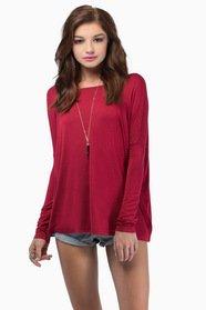 Back To Basics Long Sleeve Top $29