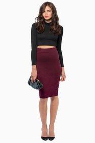 Miss Interpreting Pencil Skirt $33