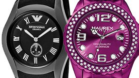 Watches by Emporio Armani and more