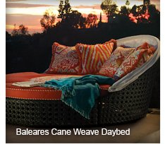 Baleares Cane Weave Daybed