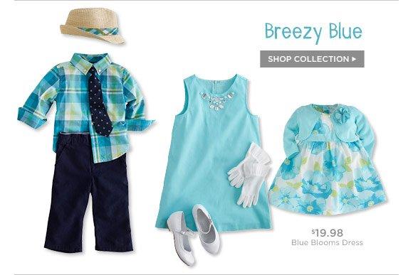 Breezy Blue. Shop Collection.