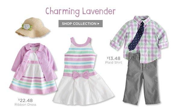 Charming Lavender. Shop Collection.