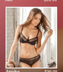 Annika lingerie set