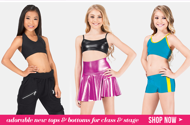 Shop New Tops and Bottoms