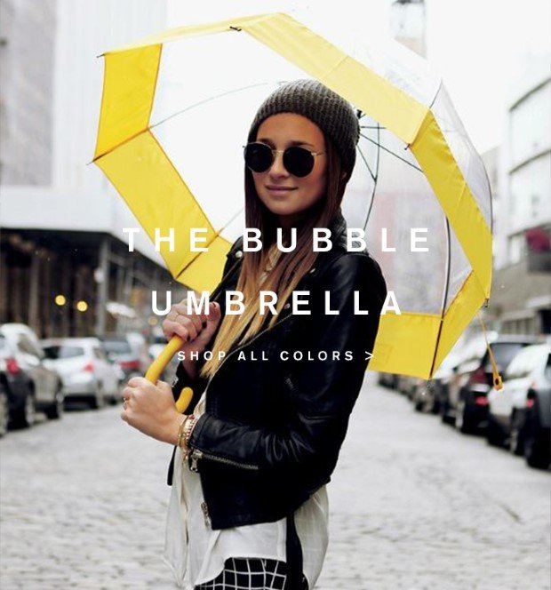 The Bubble Umbrella. Shop All Colours