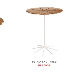 PETAL ® END TABLE IN STOCK