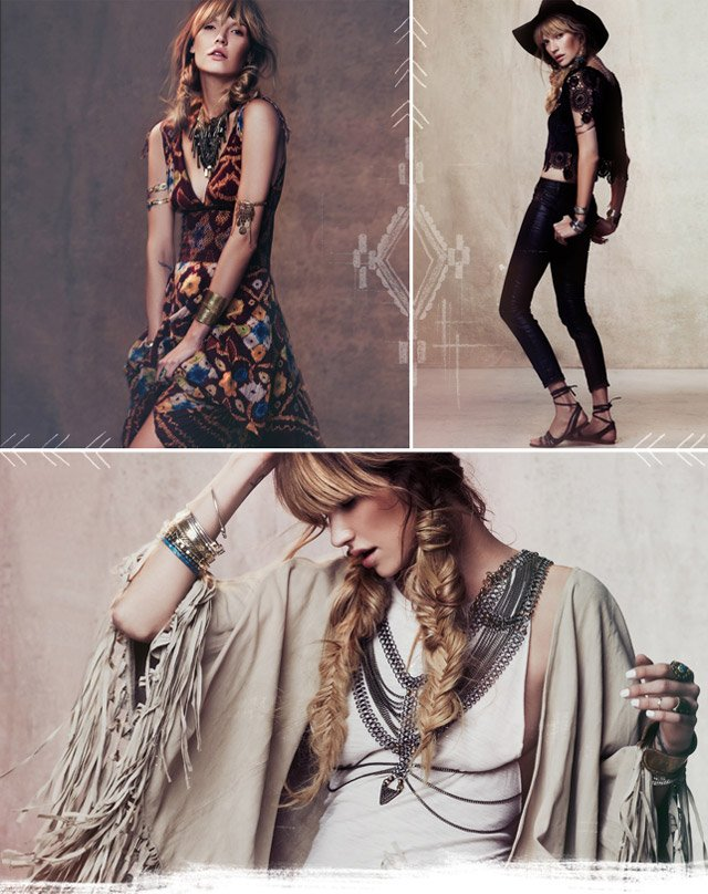 From exotic prints to flyaway fringe, embody the season's fearless flair in these key trends.