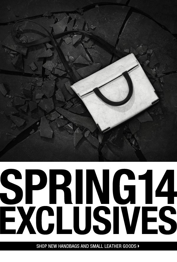 SPRING14 EXCLUSIVES. Shop New Handbags and Small Leather Goods.
