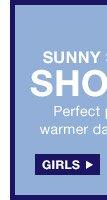 SUNNY STAPLE SHORTS | GIRLS