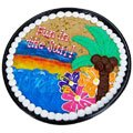 Fun In The Sun Cookie Cake