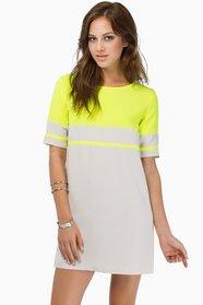Stripe Me Shift Dress $0