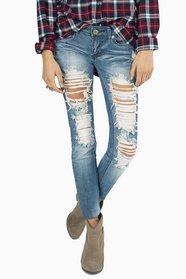 Destroyed Skinny Jeans $0