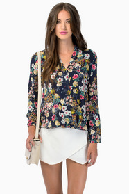 Quiet Mornings Blouse $0