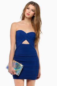 Diana Strapless Bodycon Dress $0