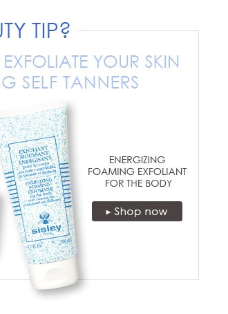 Energizing Foaming Exfoliant for the Body