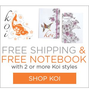 Free Shipping & Notebook with 2+ Koi Styles - Shop Now