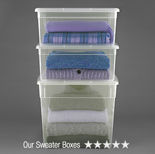 Our  Sweater Boxes - 5 Stars »