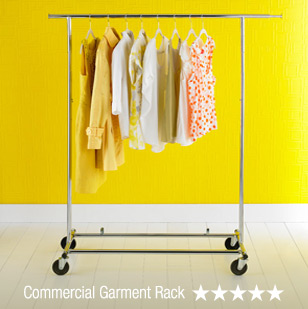 Commercial Garment Rack - 5 Stars »