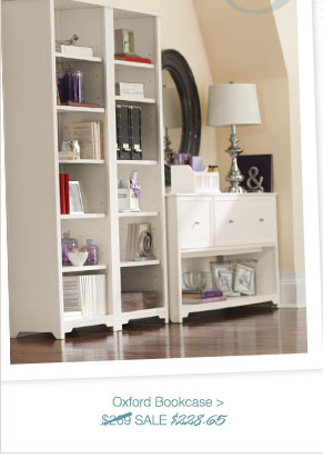 Oxford Bookcase > | SALE $228.65