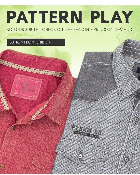 Shop All Men's Button Front Shirts