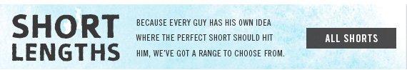 Shop All Men's Shorts