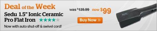 Deal of the Week! Sedu Flat Iron Only $99