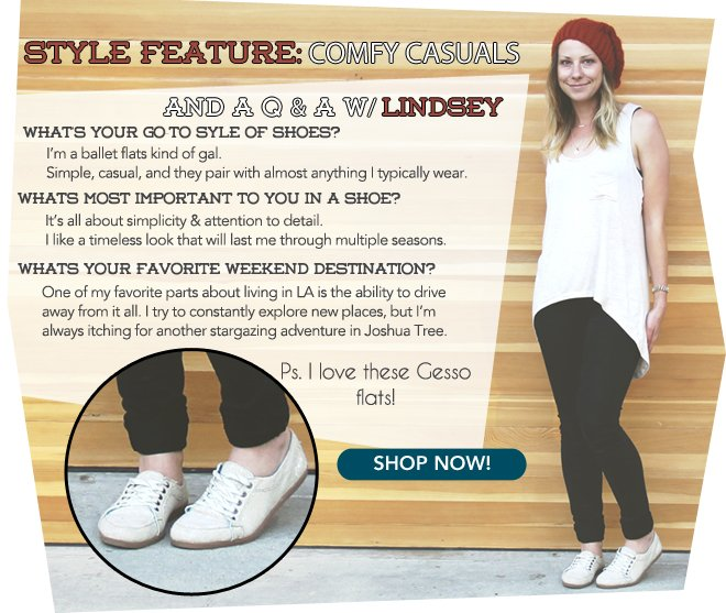 Shop Casuals, But Here's Why!