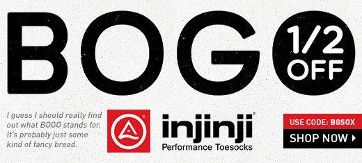 BOGO 1/2 Half Off - Injinji Toe socks