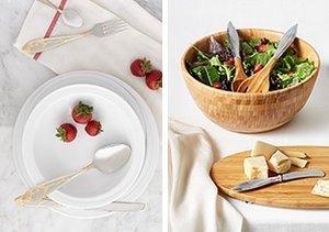 White & Wood: Serveware & More