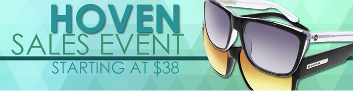 Save up to 51% during the Hoven sunglasses sales event