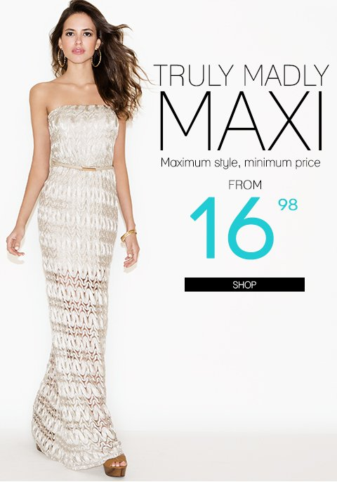 Style to the Max + 15% Off + Free Shipping on $75!